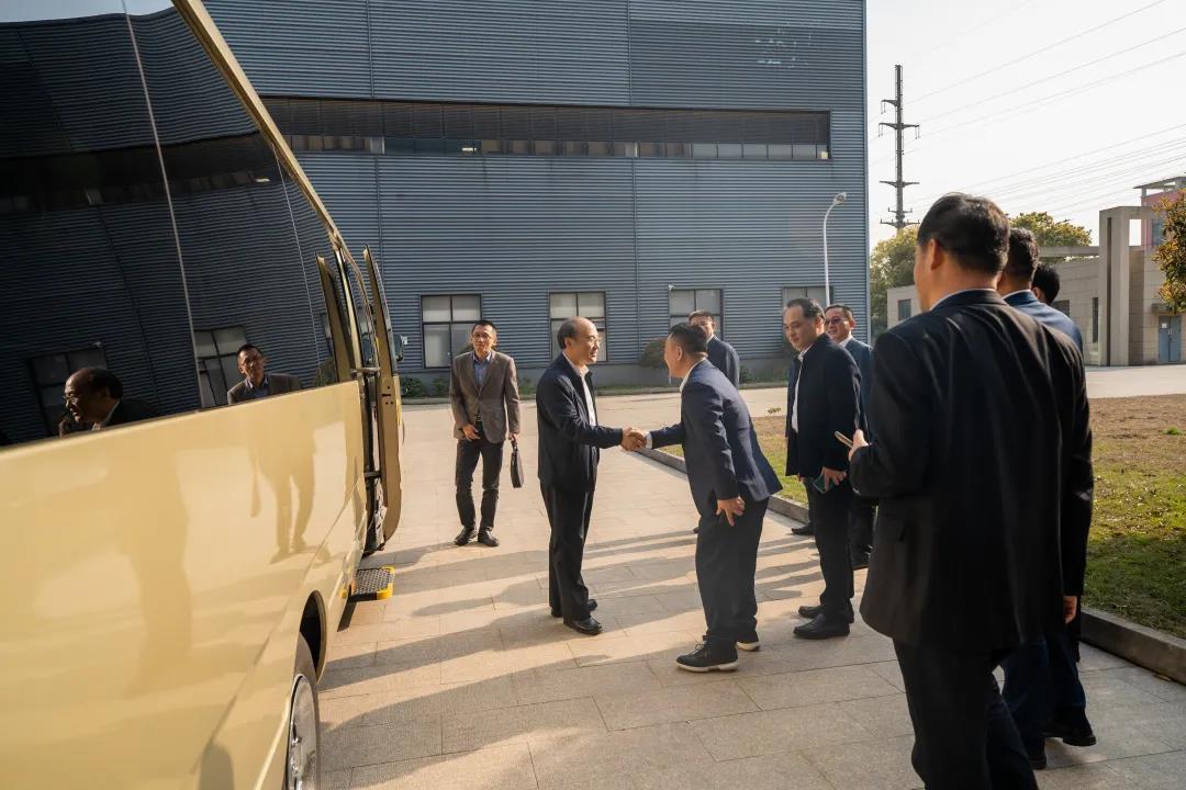 市人大常委会主任陈振一率队走访苏州嘉诺